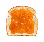 Apricot Preserves On Bread