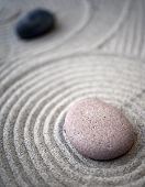 Zen-table-stones
