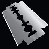 picture of razor  - Replacement element razor - JPG
