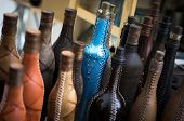 Unique Leather Covered Bottles