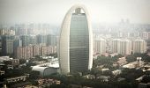 Modern Bussiness Buildings In Beijing, China
