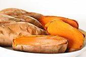 sweet potatoes angle