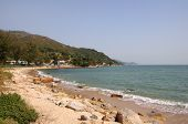 picture of lantau island  - One of the beaches on Lantau island in Hong Kong - JPG