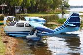 Miniature Toy SeeBee Seaplane