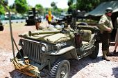 Miniature Army suv