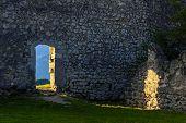 stones door - Castel Penede