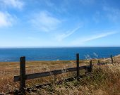 Pacific ocean from land