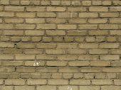 Texture Of Beige Brick Wall