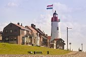 Lighthouse Of Urk, The Netherlands