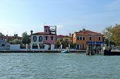 Colorful island Burano, near Venice, Italy