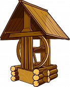 Draw-well Rustic Wooden.eps