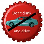 Dont Drink And Drive Bottle Cap