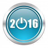 new year 2016 icon