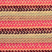 Multicolored Knitting Horizontal Striped Background