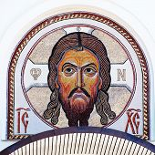 Mosaic Image Of Jesus Christ