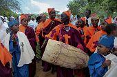Celebration In Orthodox Ethiopian Christian Church.