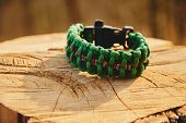 Green Bracelet Paracord