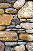 River Rock Wall Vertical