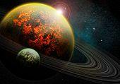 brennende planet