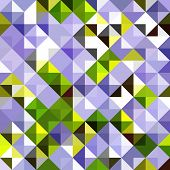 Seamless geometric background. Abstract vector Illustration. Mosaic. Can be used for wallpaper, web page background, book cover.