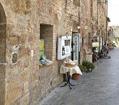 MONTERIGGIONI, ITALY ON AUGUST 27