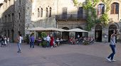 SAN GIMIGNANO, ITALY ON AUGUST 27