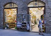 SAN GIMIGNANO, ITALY ON AUGUST 27