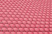 Red Seat In Sport Stadium