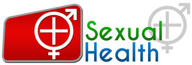 pic of std  - Sexual Health concept image with symbol and text - JPG