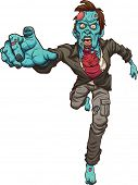 picture of zombie  - Running zombie - JPG