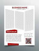 image of prospectus  - Simple business flyer template  - JPG