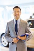 image of clipboard  - auto business - JPG