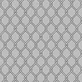 pic of chain link fence  - Chain Link Fence - JPG