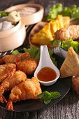 picture of buffet  - asian cuisine - JPG