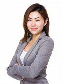pic of polite girl  - Asian businesswoman - JPG