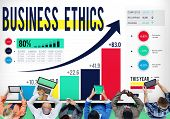 image of moral  - Business Ethics Integrity Moral Responsibility Concept - JPG