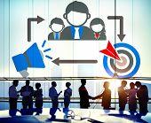 pic of mentoring  - Coaching Leadership Mentoring Target Concept - JPG