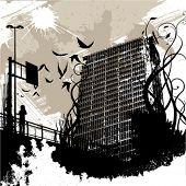vector urbano de la ciudad