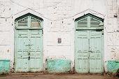 Doors In Massawa Eritrea