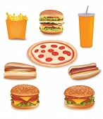 pic of junk food  - Photo - JPG