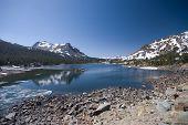 Alpine Lake In The High Sierra