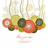 floral design, greetings card