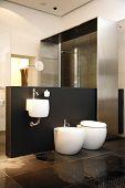 moderne WC