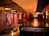 picture of night-club  - interior of a night club - JPG