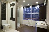 Interieur des Badezimmers