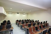 picture of training room  - interior of a classroom - JPG
