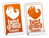 Best grilled chicken stickers set.