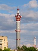 stock photo of ekaterinburg  - television tower - JPG