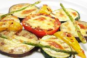 Side Dishes - Grilled Vegetables under