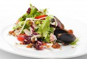 Seafood Salad with Crabmeat and Mussels